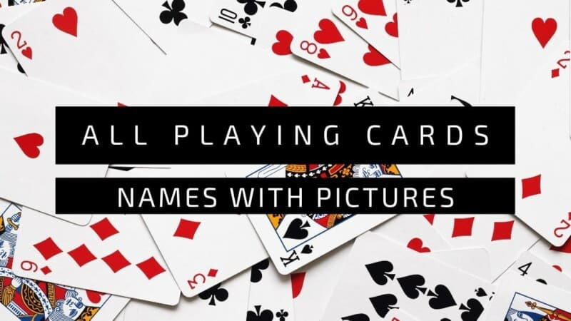 Playing Cards Names With Pictures