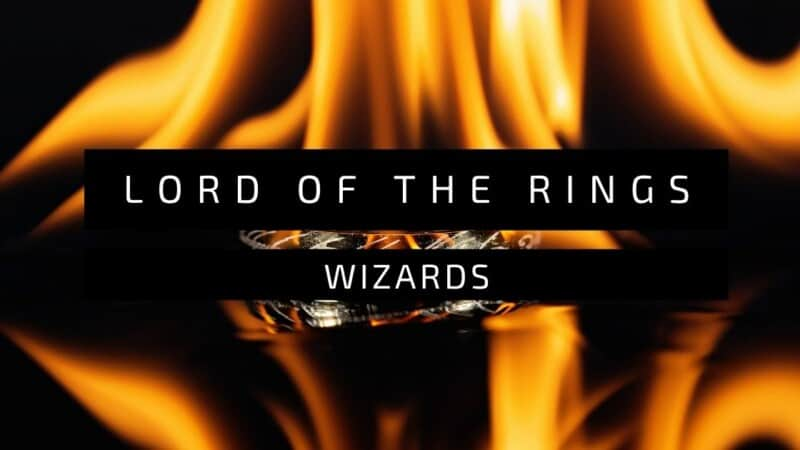 Lord of the Rings wizards