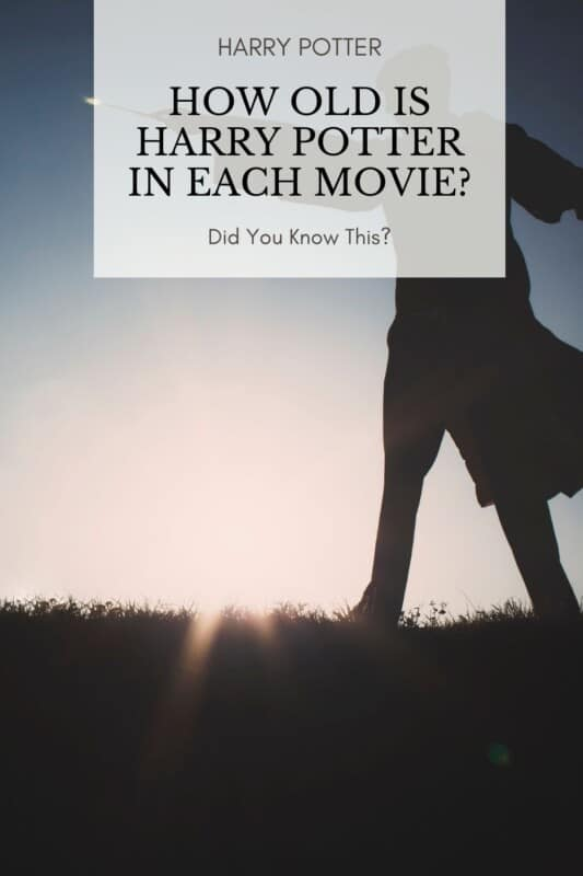 How Old Is Harry Potter In Each Movie